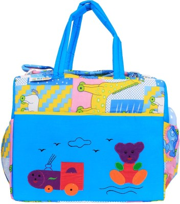 Ole Baby Big Amazing Cotton Smart Organizer Best Material 100% Cotton, Multi-function Tote Diaper Bag