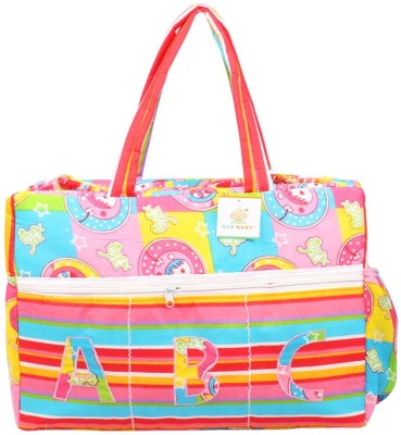Ole Baby Big Multi-Utility Amazing Abstract Fabric Diaper Bag