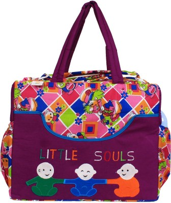 Ole Baby Big Amazing Smart Organizer Best Material 100% Cotton, Multi-function Tote Diaper Bag