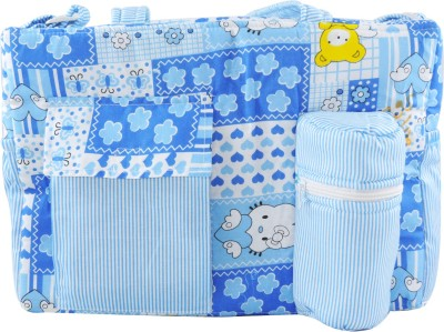 Ole Baby Big Multi-Utility Little Hearts Teddy Print Tote Diaper Bag