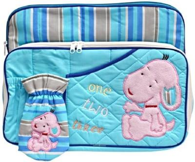 Kidzvilla Mother-Multi Utility Sky Blue Color Diaper bag