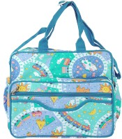 A Baby Multi Utility Nursery Messenger Diaper Bag(Blue)