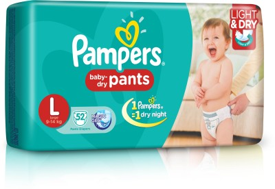 Pampers Pants Diaper Large Size