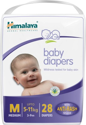 Himalaya Baby Diapers Medium - Medium(28 Pieces)