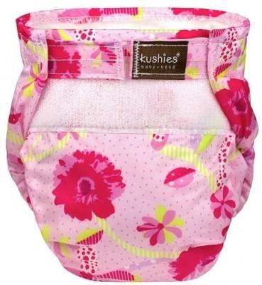 Kushies Ultra-Lite Diaper To the Fresh Pink - Toddler