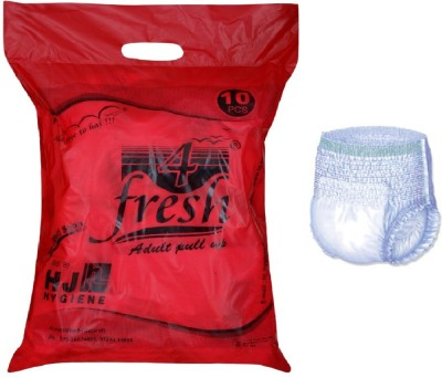 4Fresh Adult Pull Up DIapers Pant Style - Extra Large