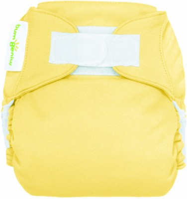 Bum Genius Freetime All-in-one One-size Cloth Diaper - Hook & Loop - Butternut