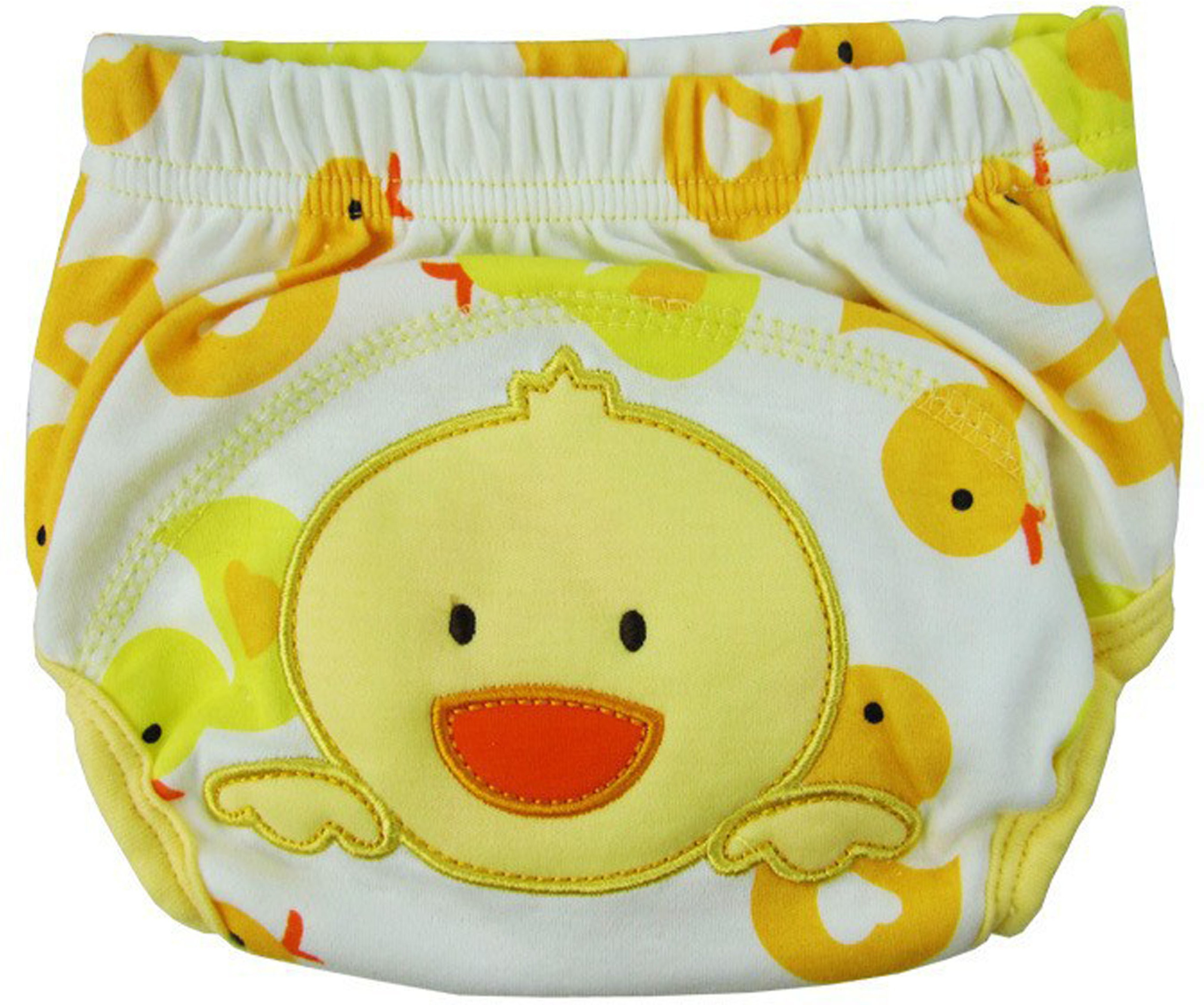 Ole Baby Soft Comfortable Reusable Cotton Pull on Style Pants (Age:0-1 Years) - S(1 Pieces)
