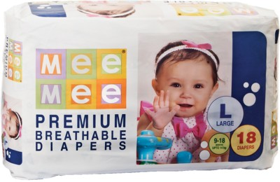 Mee Mee Premium Breathable Diapers - Large