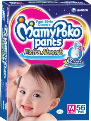Mamy Poko Pants - M(56 Pieces)