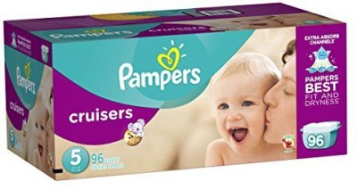 Pampers Cruisers Diapers Giant Pack - Medium