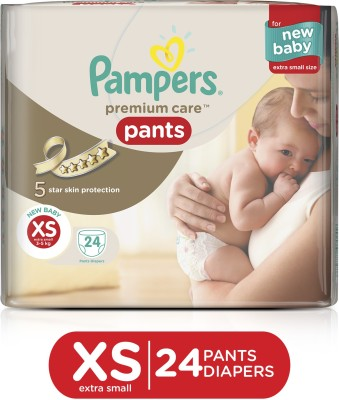 Pampers Premium Care Pants Diapers - Extra Small(24 Pieces)