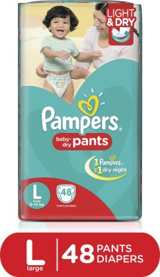 Pampers Pants Diapers Large 48 Pieces