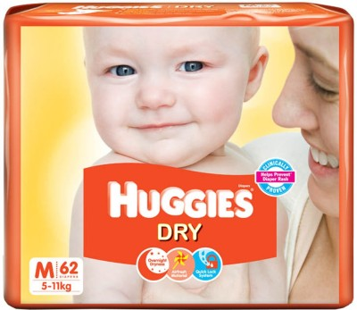 Huggies New Dry Diaper - Medium