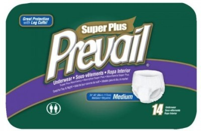Prevail Prevail Super Plus Absorbency Underwear Style Diaper - Small, Medium