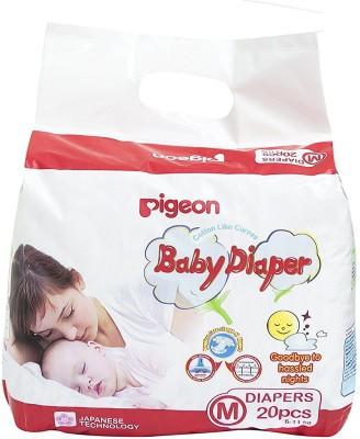 Pigeon Pigeon Baby Medium Size Diaper (20 Count) - MEdium(1 Pieces)