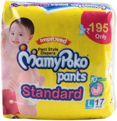 Mamy Poko Pants Standard 17 Pcs (9 - 14 Kgs) - Large