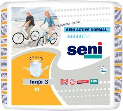 Seni Seni Active Normal Premium Quality (Large 3) - L(10 Pieces)