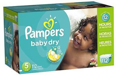 Pampers Baby Dry Diapers Giant Pack - Medium