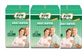 Avm Super Dry Premium Adult Diapers - XL...