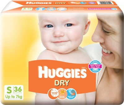 Huggies New Dry - S(36 Pieces)