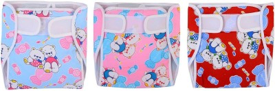 CHHOTE JANAB BABY CLOTH DIAPER WITH EXTRA PAD - MEDIUM