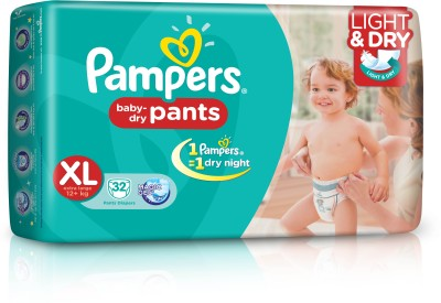 Pampers Pants Diaper Extra Large Size