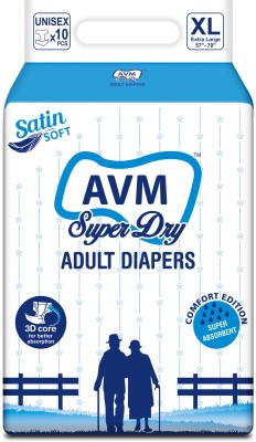 AVM SUPER DRY Adult Diapers Regular - Large