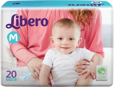 Libero Disposable Baby Diapers - Medium