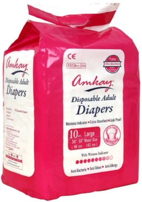 Amkay Adult Diapers - Large