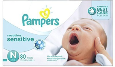 Pampers Swaddlers Sensitive Diapers - Small