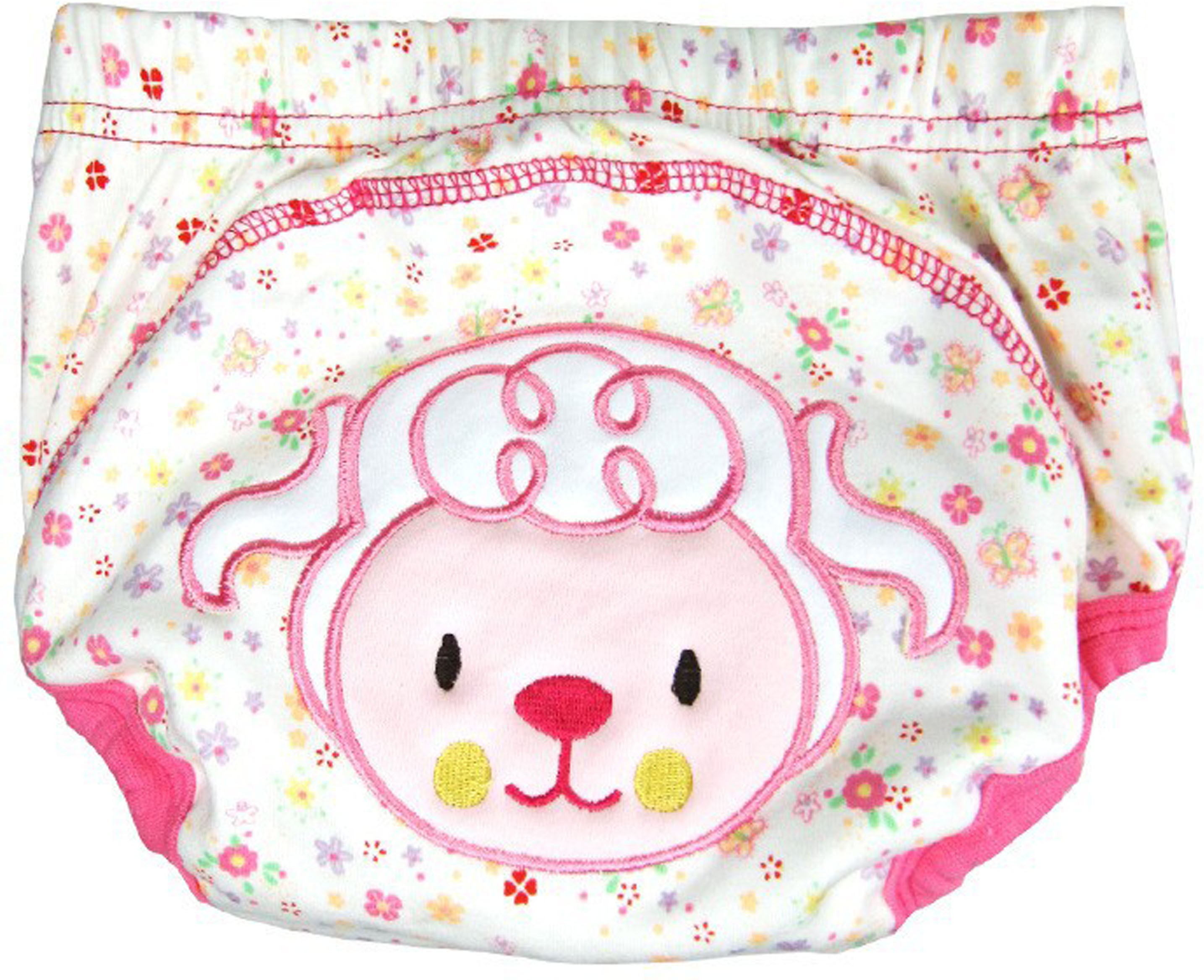 Ole Baby Soft Comfortable Reusable Cotton Pull on Style Pants (Age:1-2 Years) - M(1 Pieces)
