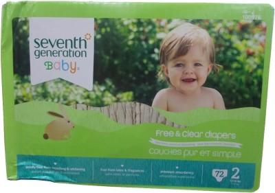Seventh Generation Free & Clear Diapers - Medium