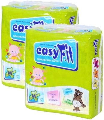 Easy Fit Baby Diaper - M(40 Pieces)