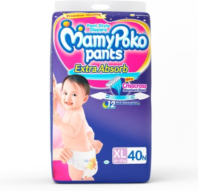 Mamy Poko Pants - XL(40 Pieces)