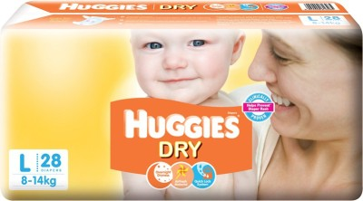 Huggies New Dry - L(28 Pieces)