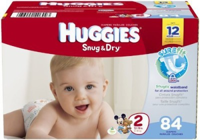 Huggies Snug and Dry Diapers - Small