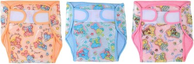 CHHOTE JANAB BABY TOWEL PLASTIC DIAPER - MEDIUM