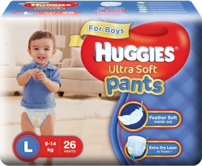 Huggies Ultra Soft Pants - L(26 Pieces)