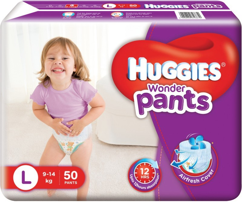 Huggies Wonder Pants - L(50 Pieces)