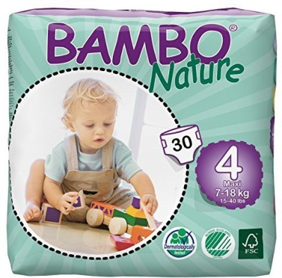 Bambo Nature Premium Baby Diapers - Large