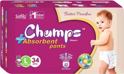 Champs High Absorbent Pants - Large