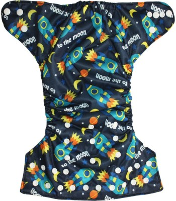 Soft Baby Reusable Adjustable Cloth Diaper - Free Size