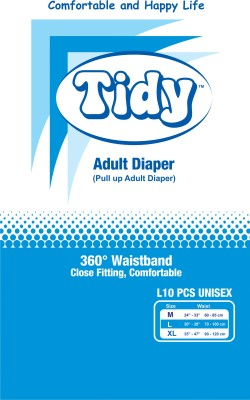Tidy Pull Up Adult Diaper - Large
