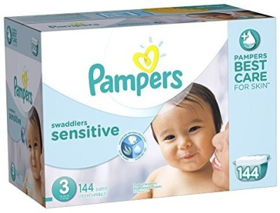 Pampers Swaddlers Sensitive Diapers - Free Size
