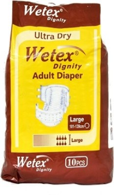 Wetex Adult Diapers Dignity - Large