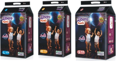 Libero Pants - S(3 Pieces)