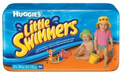 Huggies Little Swimmers Disposable Swim Diapers - M(11 Pieces)