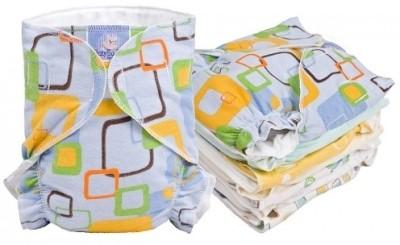 Kushies Baby Basic Diaper 5 Pack Promo - Infant