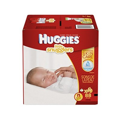 Huggies Little Snugglers Baby Diapers - Small